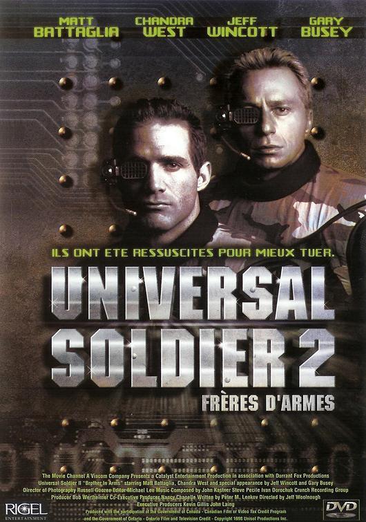 affiche du film Universal Soldier 2 : Frères d'armes (TV)