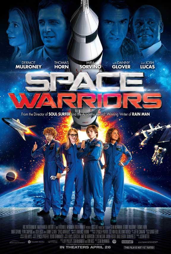affiche du film Les Sauveurs de l'espace
