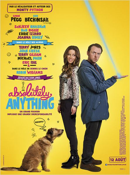 affiche du film Absolutely Anything