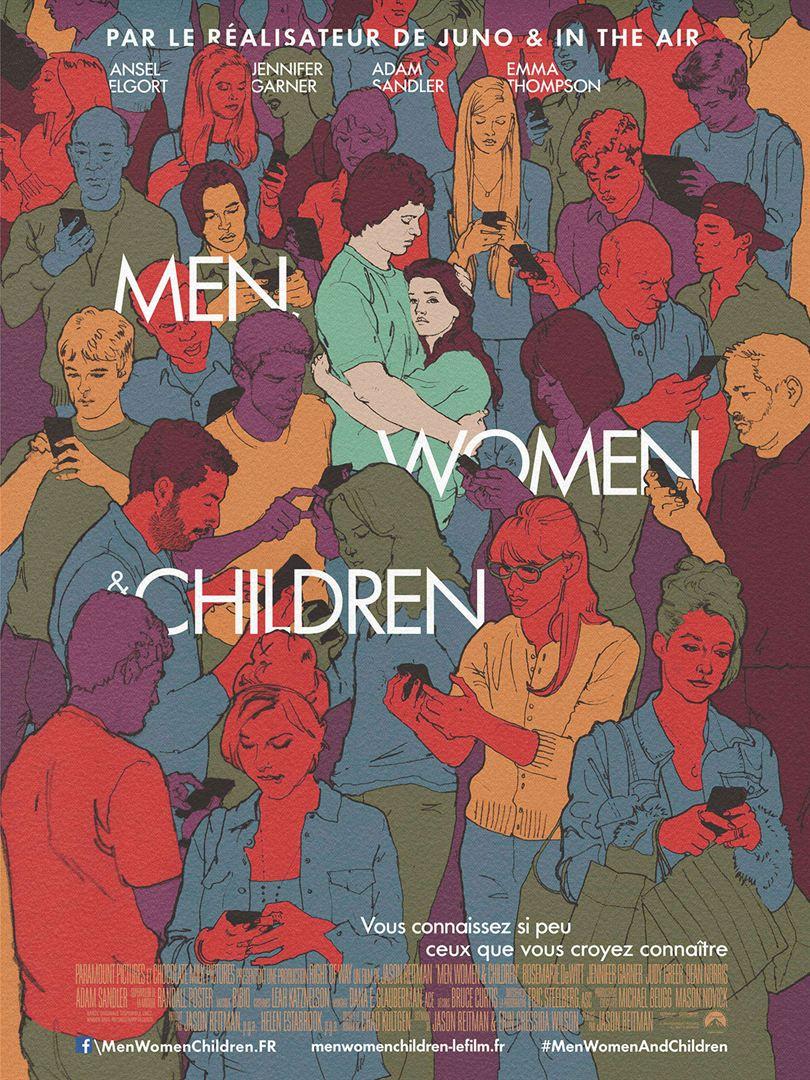 affiche du film Men, Women & Children