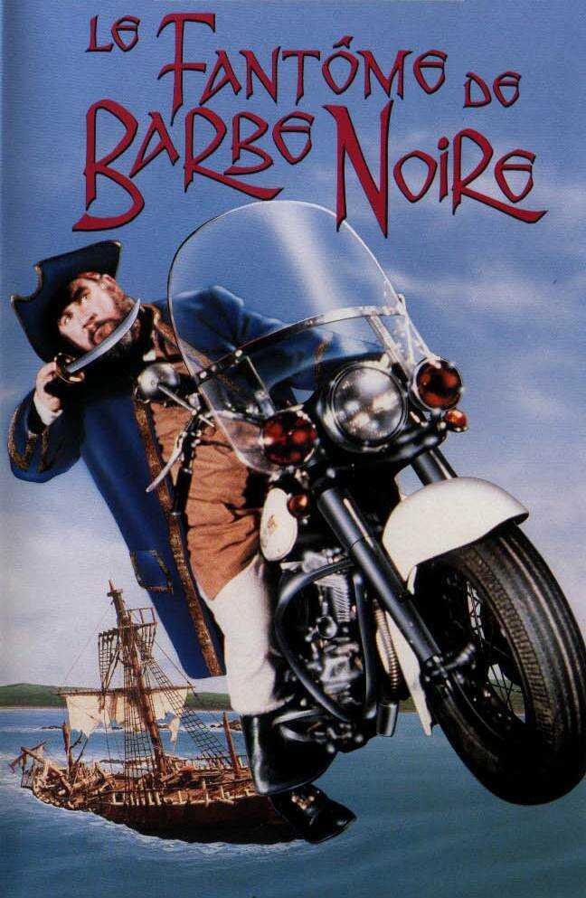 affiche du film Le Fantôme de Barbe Noire