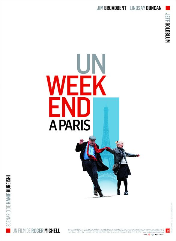 affiche du film Un week-end à Paris