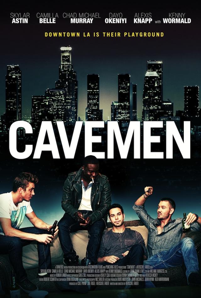 affiche du film Cavemen