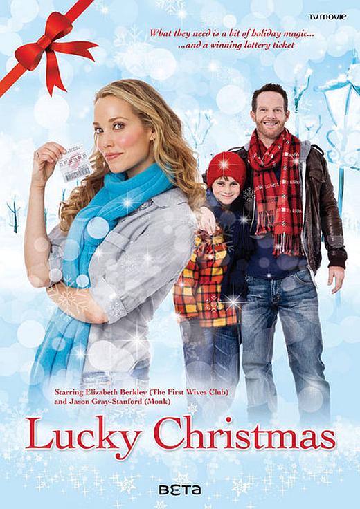 affiche du film Un ticket gagnant pour Noël (TV)