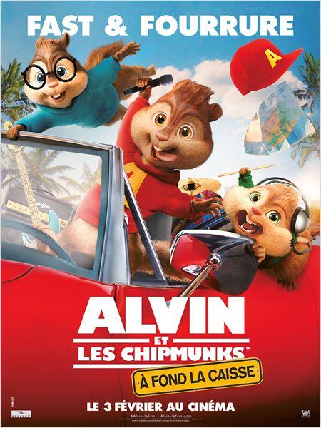 affiche du film Alvin et les Chipmunks : À fond la caisse