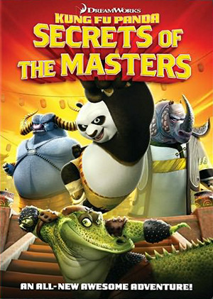 affiche du film Kung Fu Panda : Les secrets des maîtres