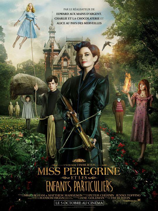 affiche du film Miss Peregrine et les enfants particuliers