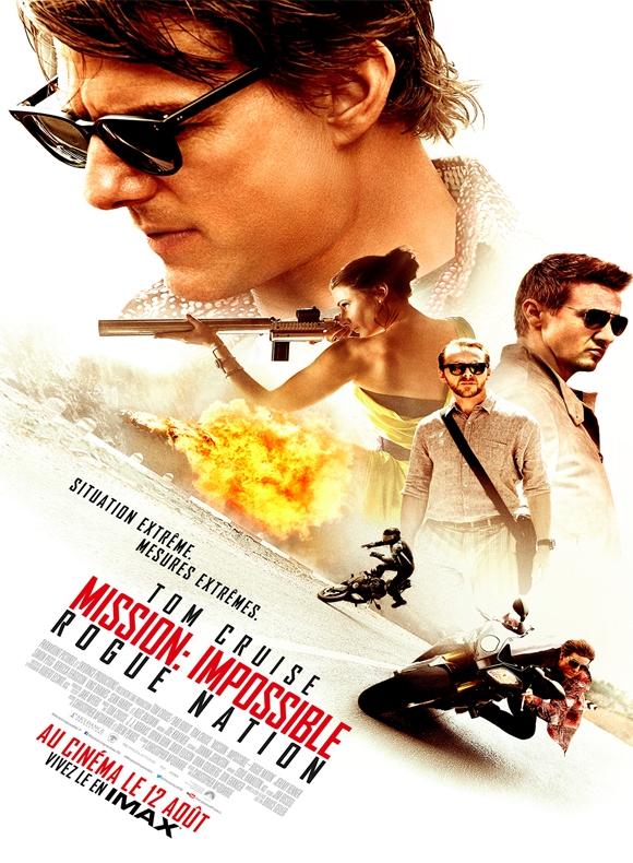 affiche du film Mission: Impossible 5 - Rogue Nation