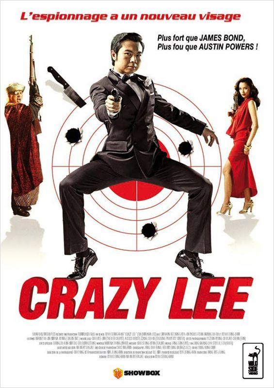 affiche du film Crazy Lee, agent secret coréen