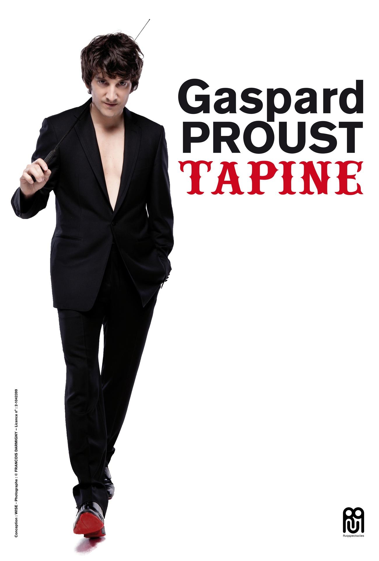 affiche du film Gaspard Proust tapine