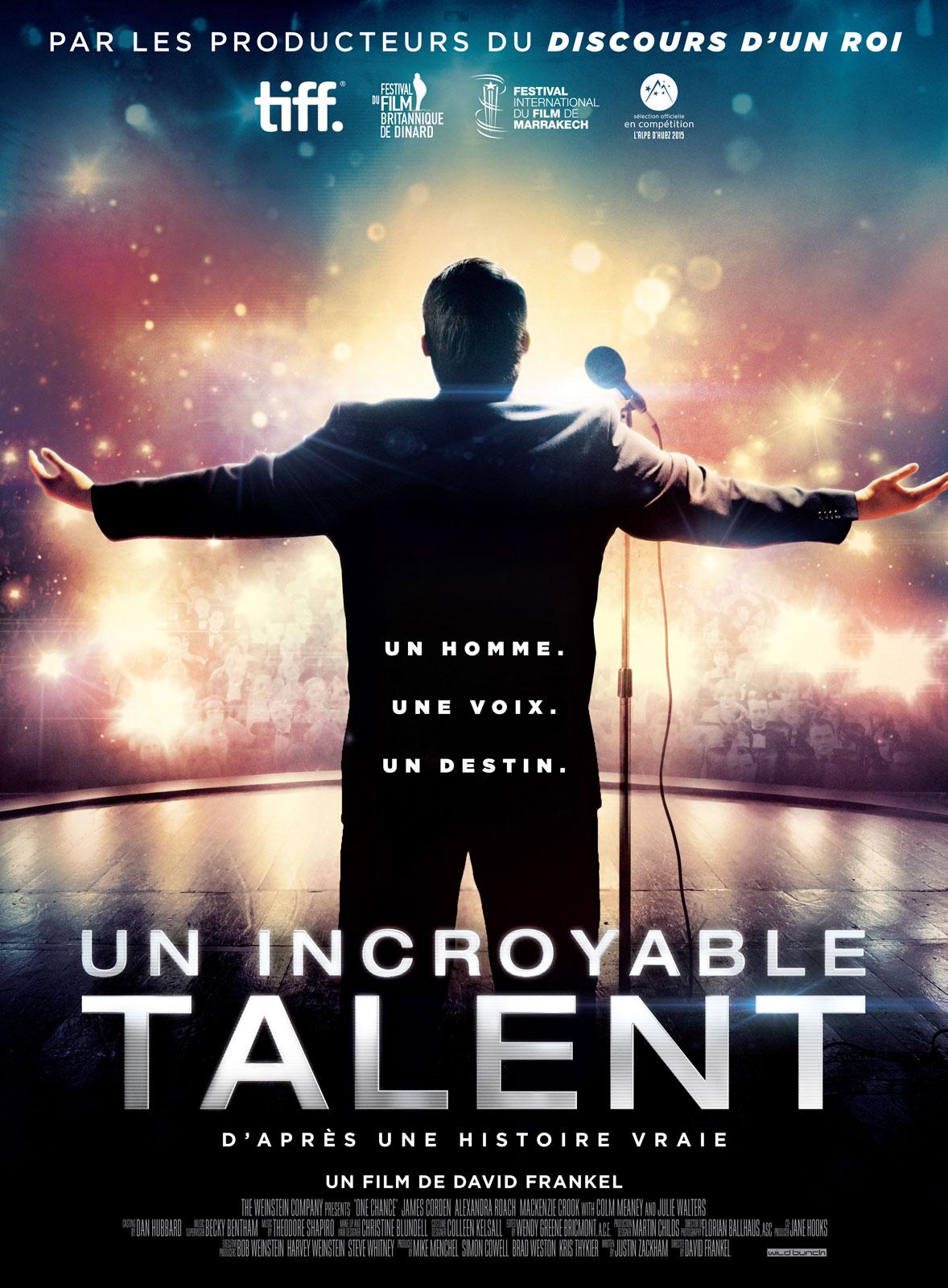 affiche du film Un incroyable talent