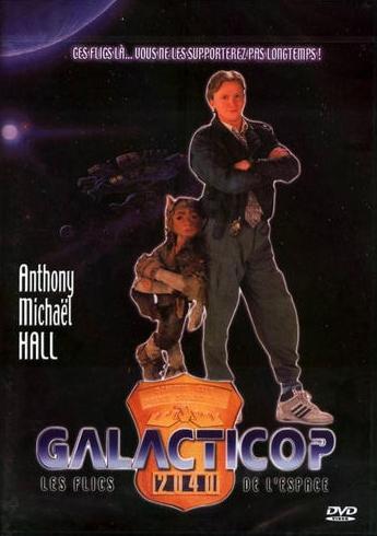 affiche du film Galacticop