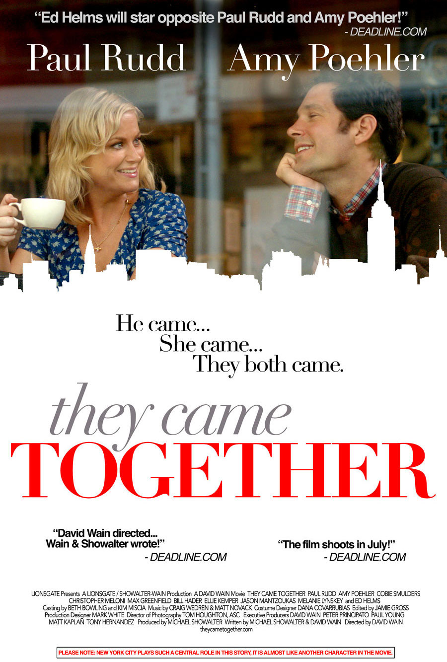 affiche du film They Came Together