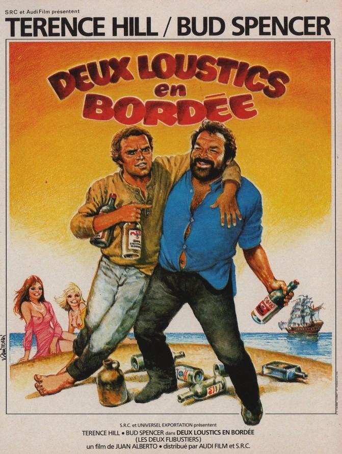affiche du film Deux loustics en bordée