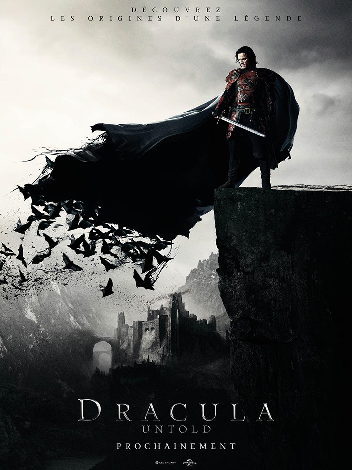 affiche du film Dracula Untold