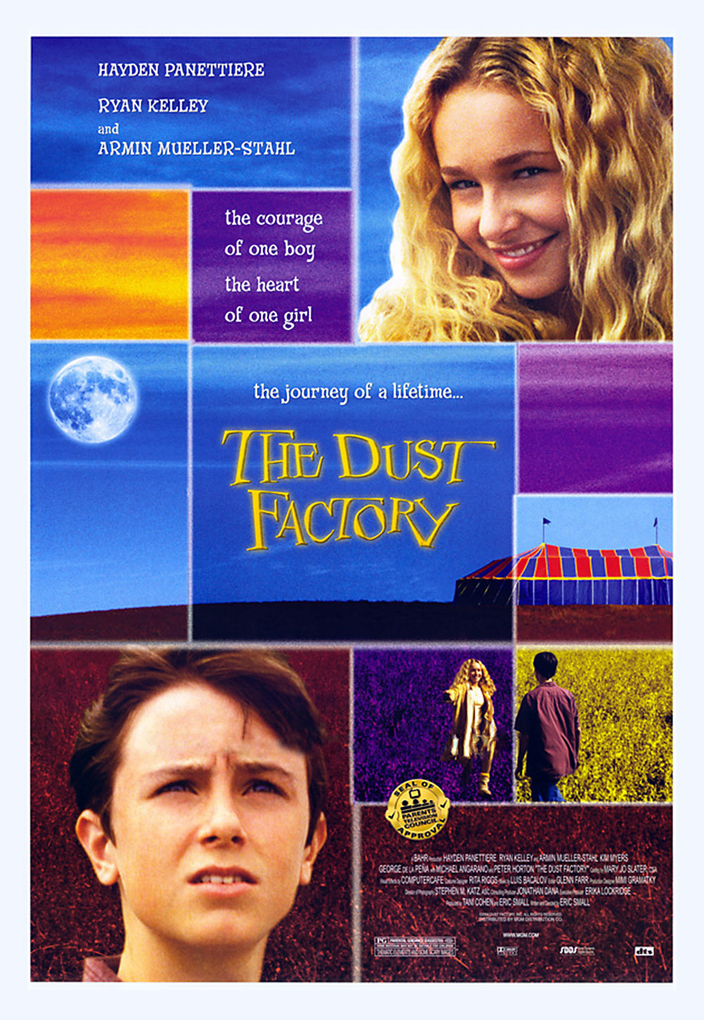 affiche du film The Dust Factory