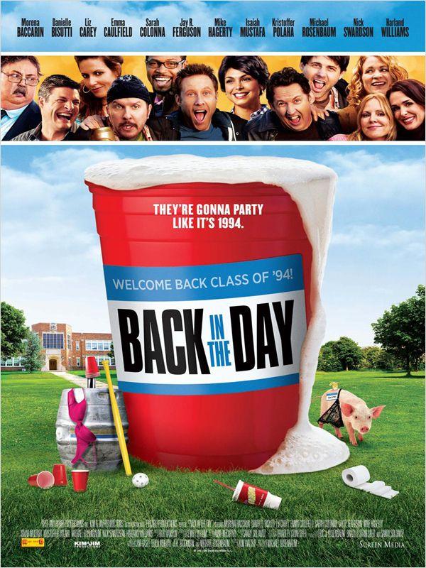 affiche du film Back in the Day