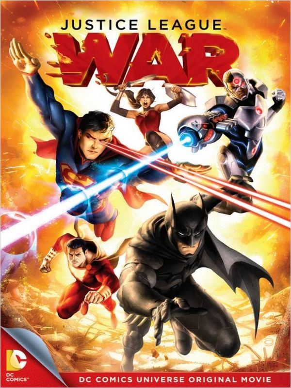 affiche du film La Ligue des Justiciers : Guerre