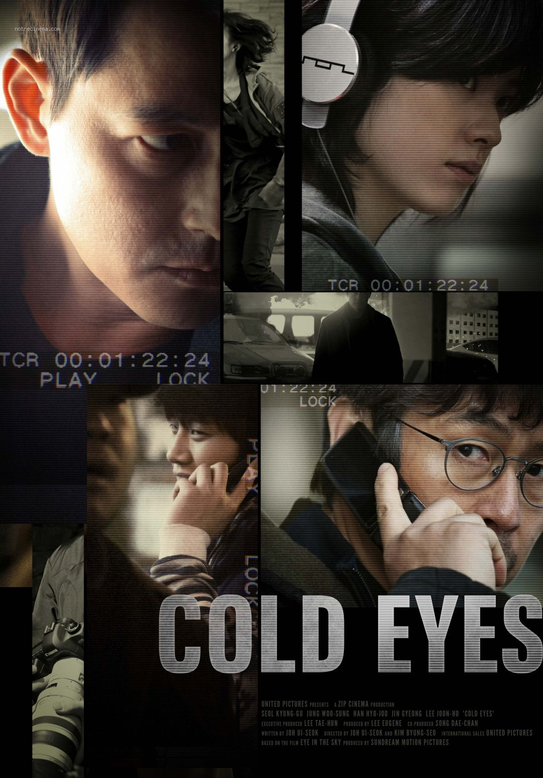 affiche du film Cold Eyes