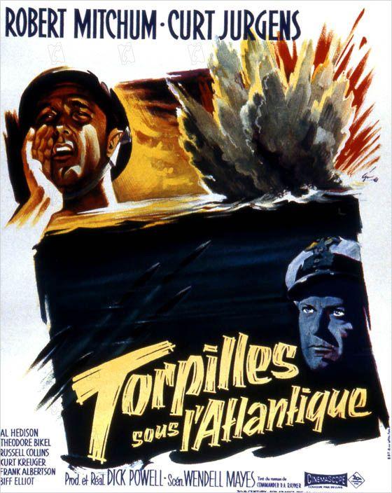 affiche du film Torpilles sous l'Atlantique