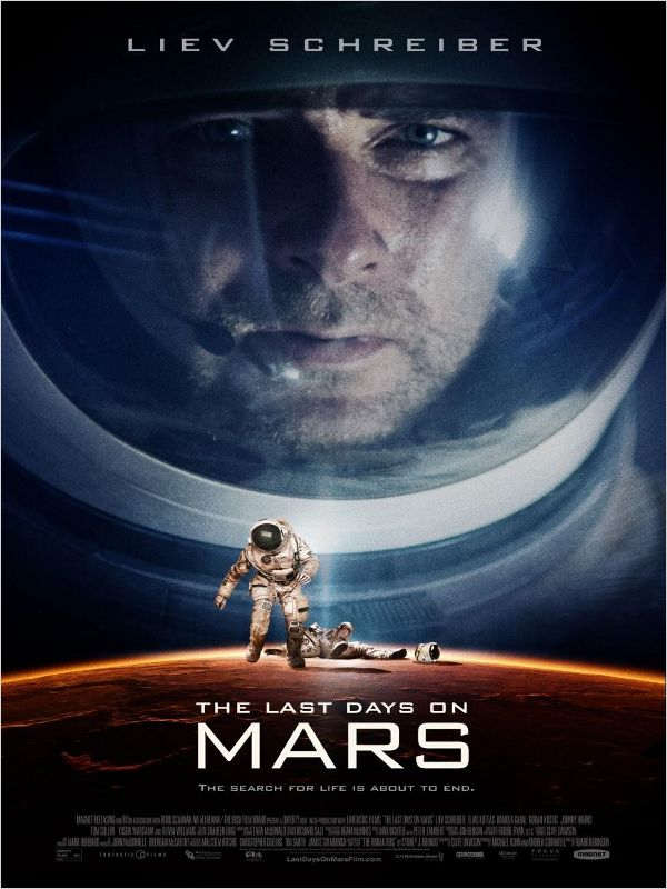 affiche du film The Last Days on Mars