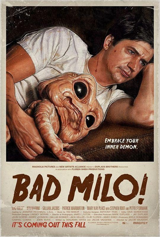 affiche du film Bad Milo!