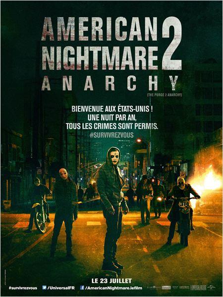affiche du film American Nightmare 2 : Anarchie