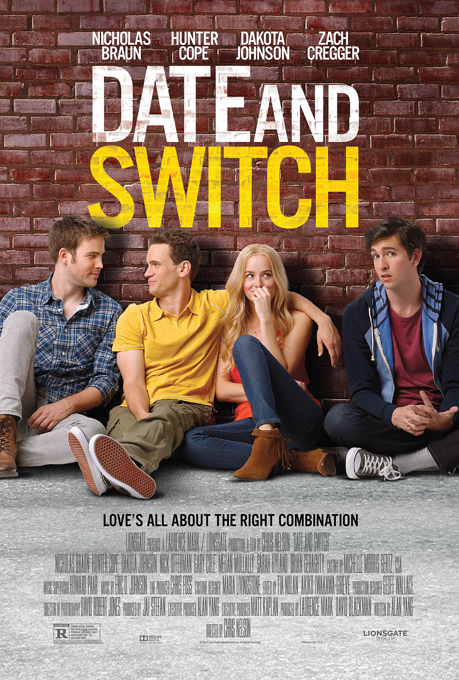 affiche du film Date and Switch