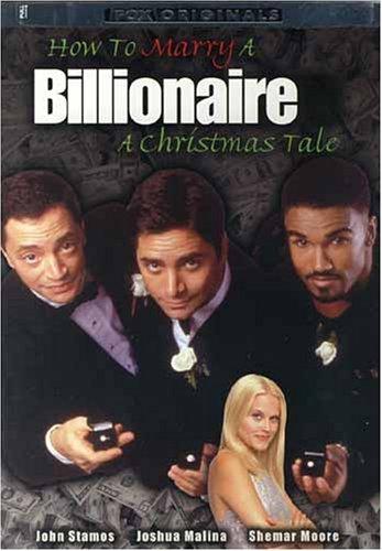 affiche du film Comment épouser une milliardaire : un Conte de Noël (TV)