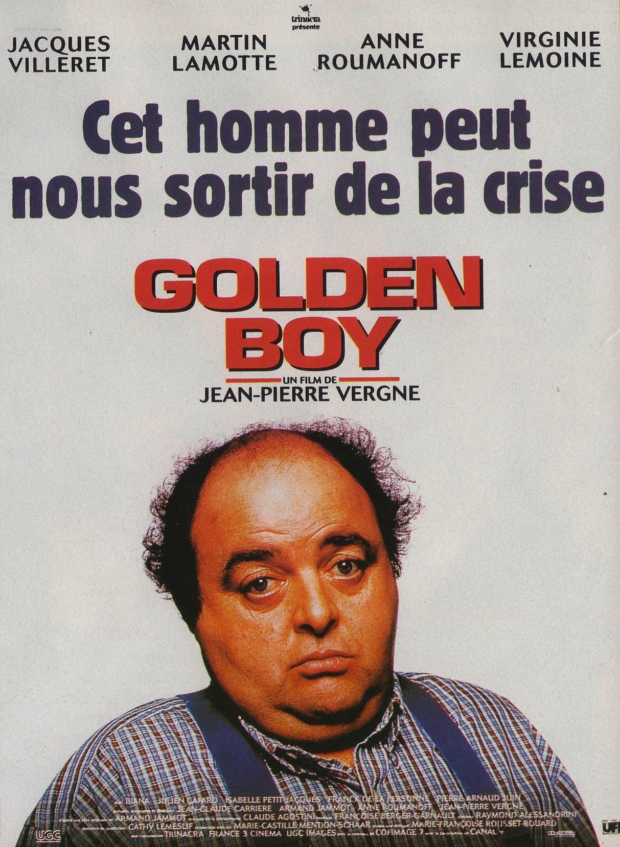 affiche du film Golden boy
