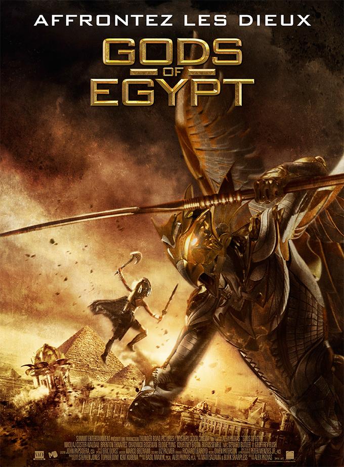 affiche du film Gods of Egypt