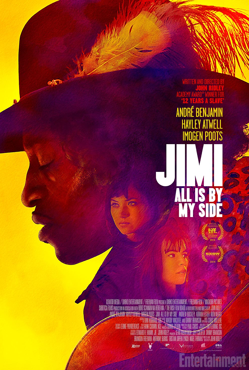 affiche du film Jimi: All Is by My Side