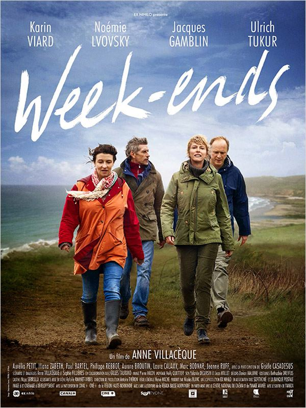 affiche du film Week-ends