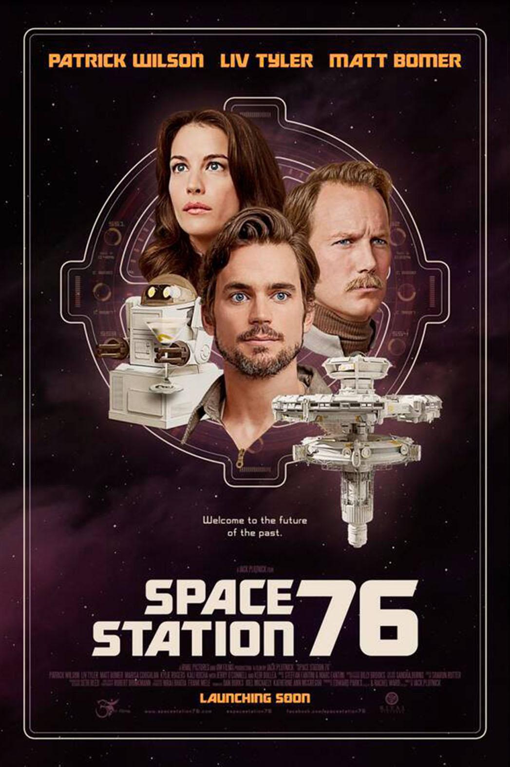 affiche du film Space Station 76