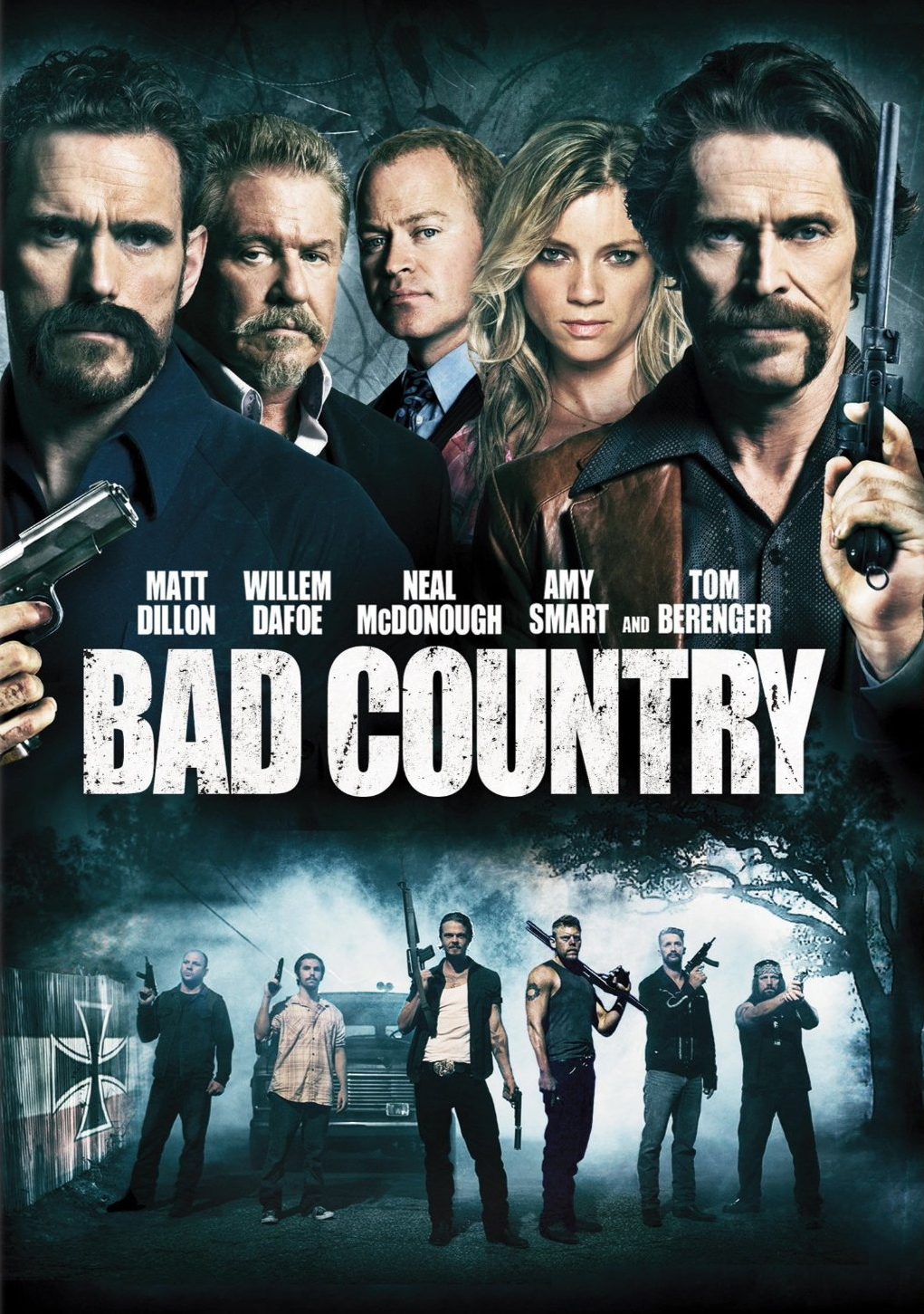 affiche du film Bad Country