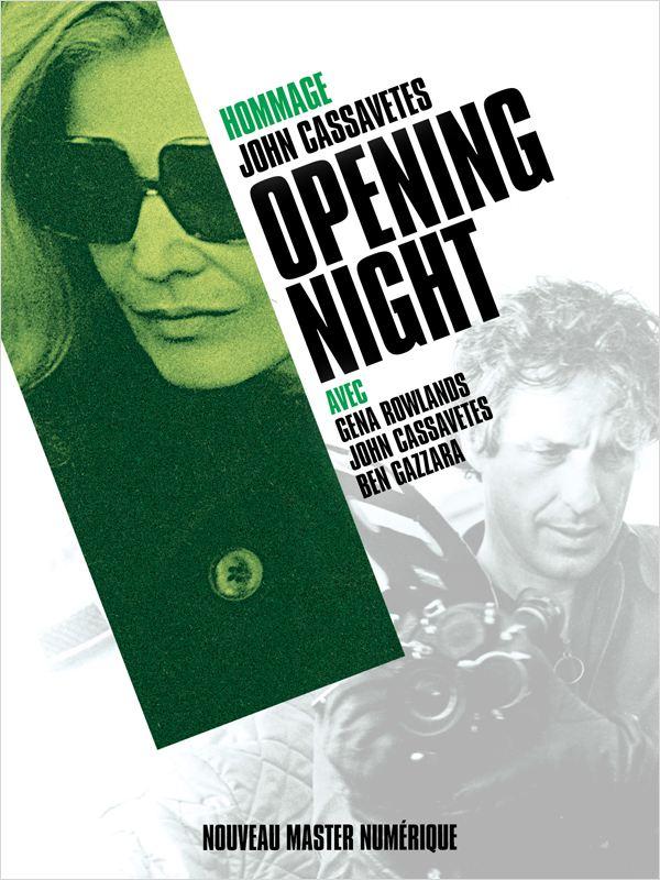 affiche du film Opening Night