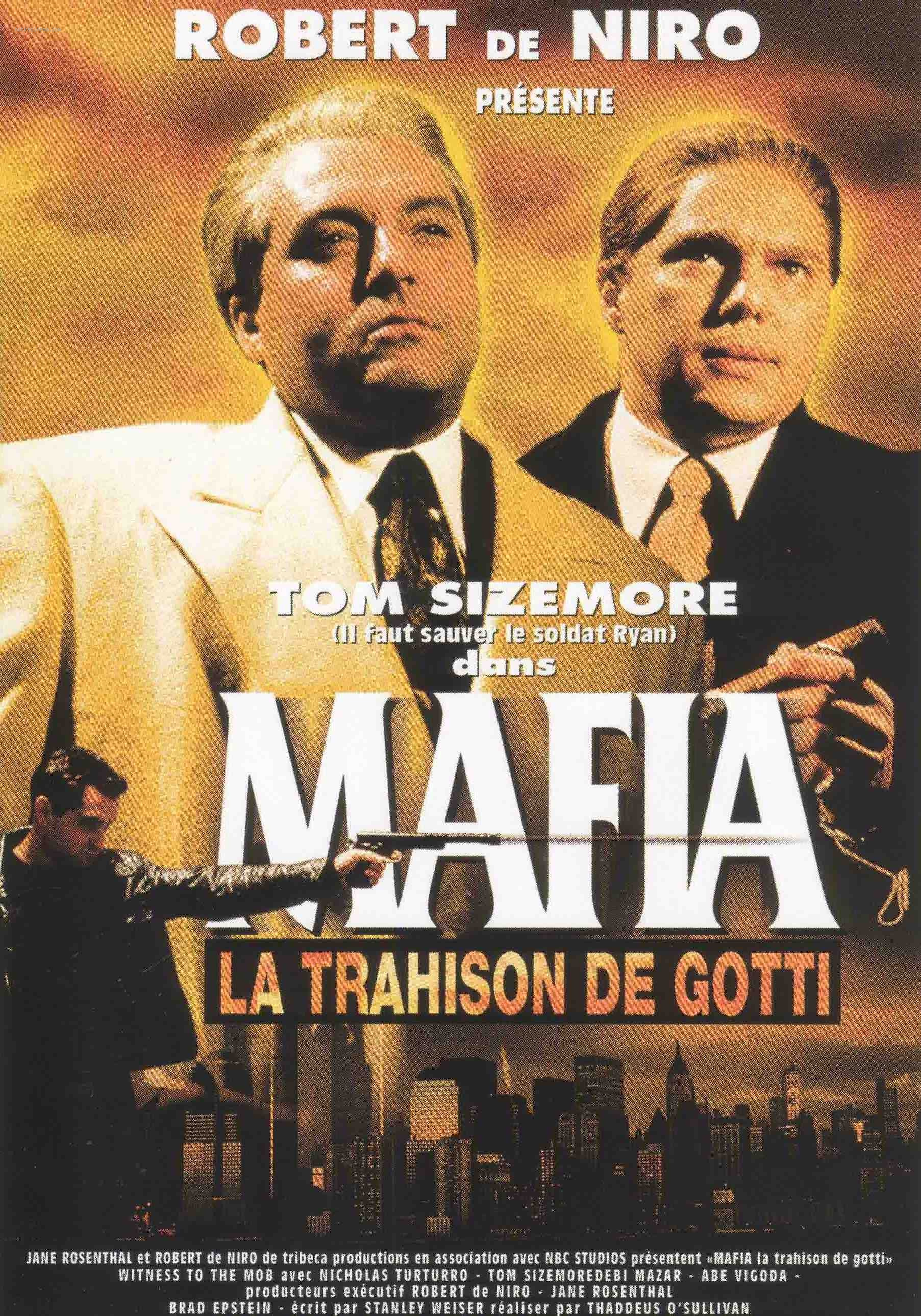affiche du film Mafia, la trahison de Gotti (TV)
