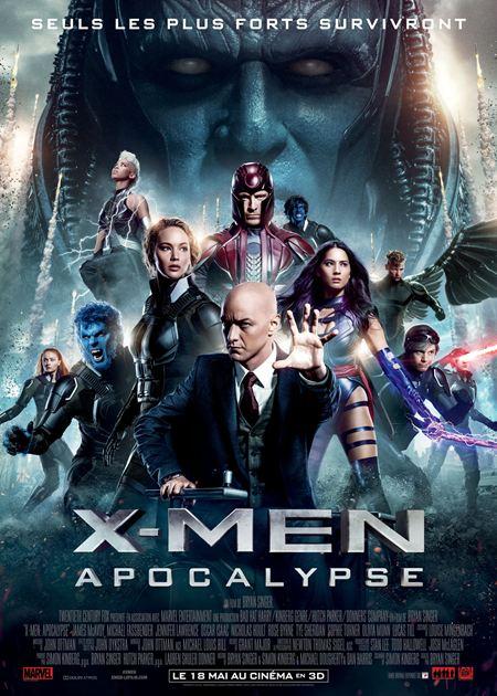 affiche du film X-Men: Apocalypse