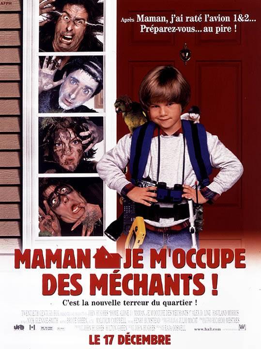 affiche du film Maman, je m'occupe des méchants !