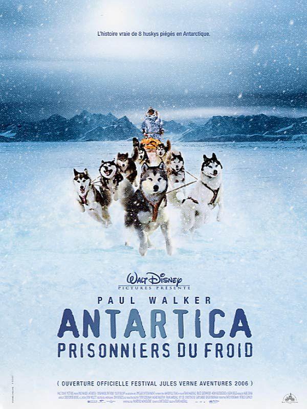 affiche du film Antartica, prisonniers du froid