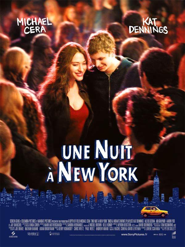 affiche du film Une nuit à New York