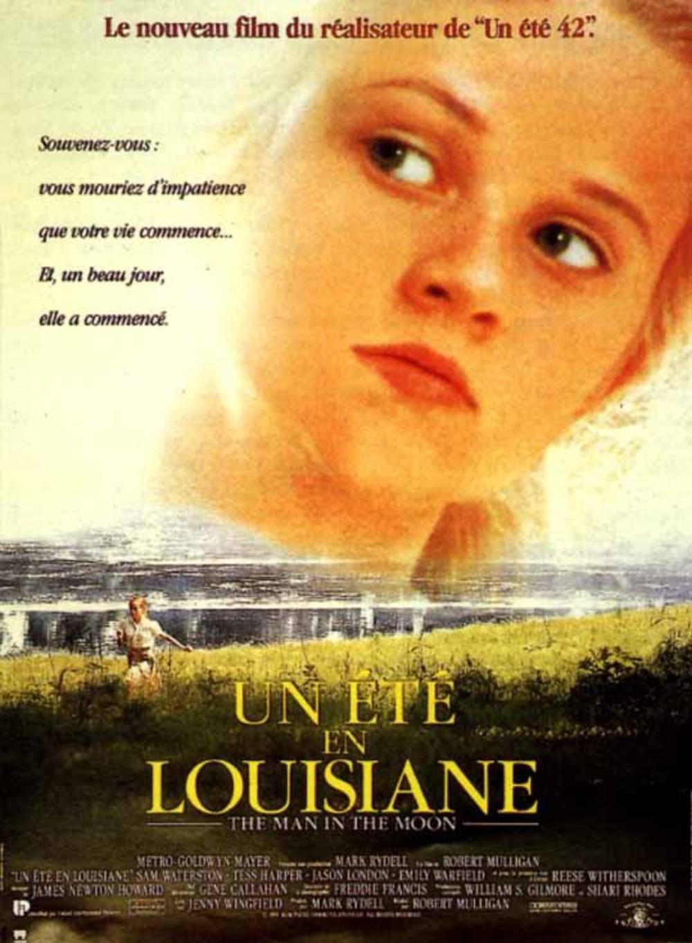 affiche du film Un été en Louisiane