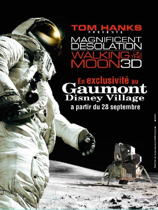 affiche du film Magnifique désolation : Marchons sur la lune