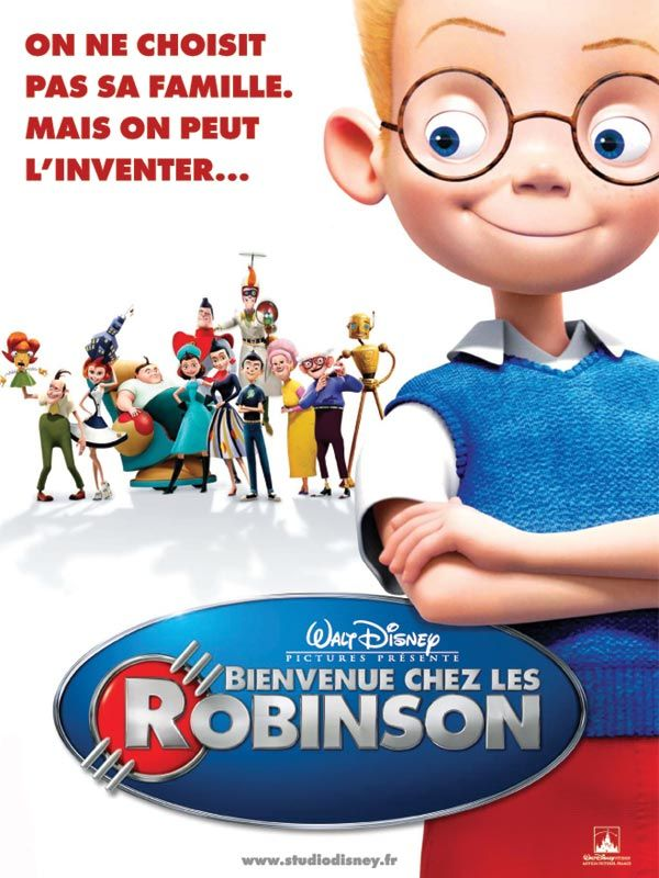 affiche du film Bienvenue chez les Robinson