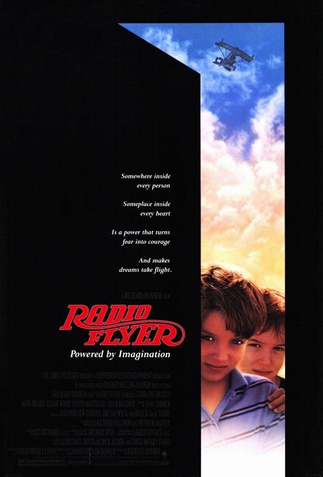 affiche du film Radio Flyer