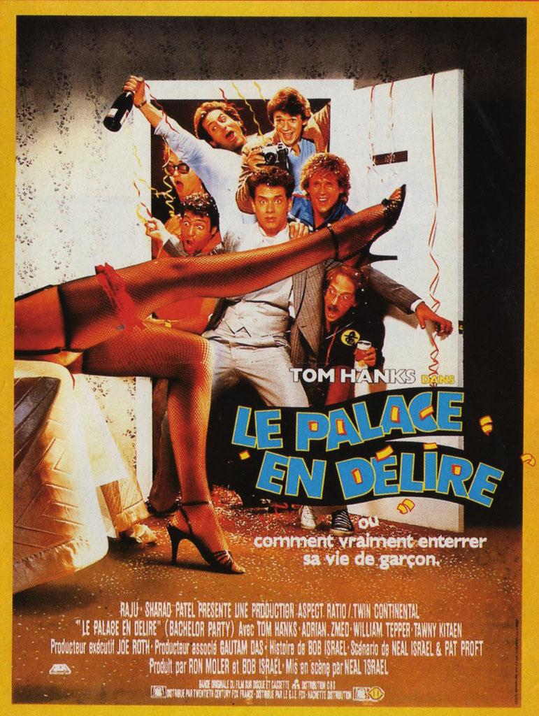 affiche du film Le palace en folie