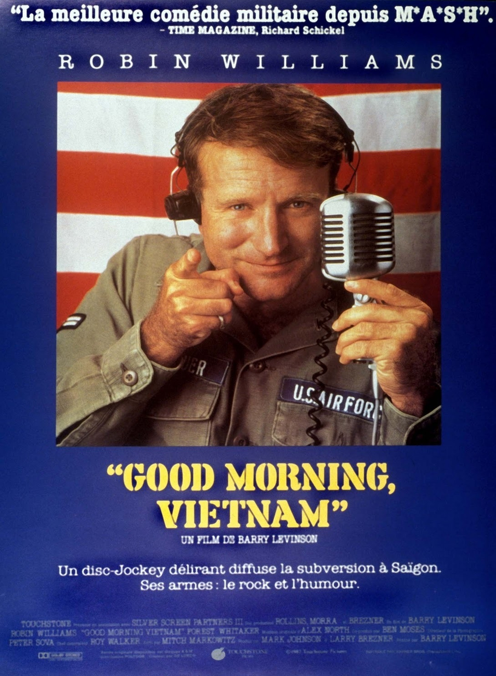 affiche du film Good Morning Vietnam