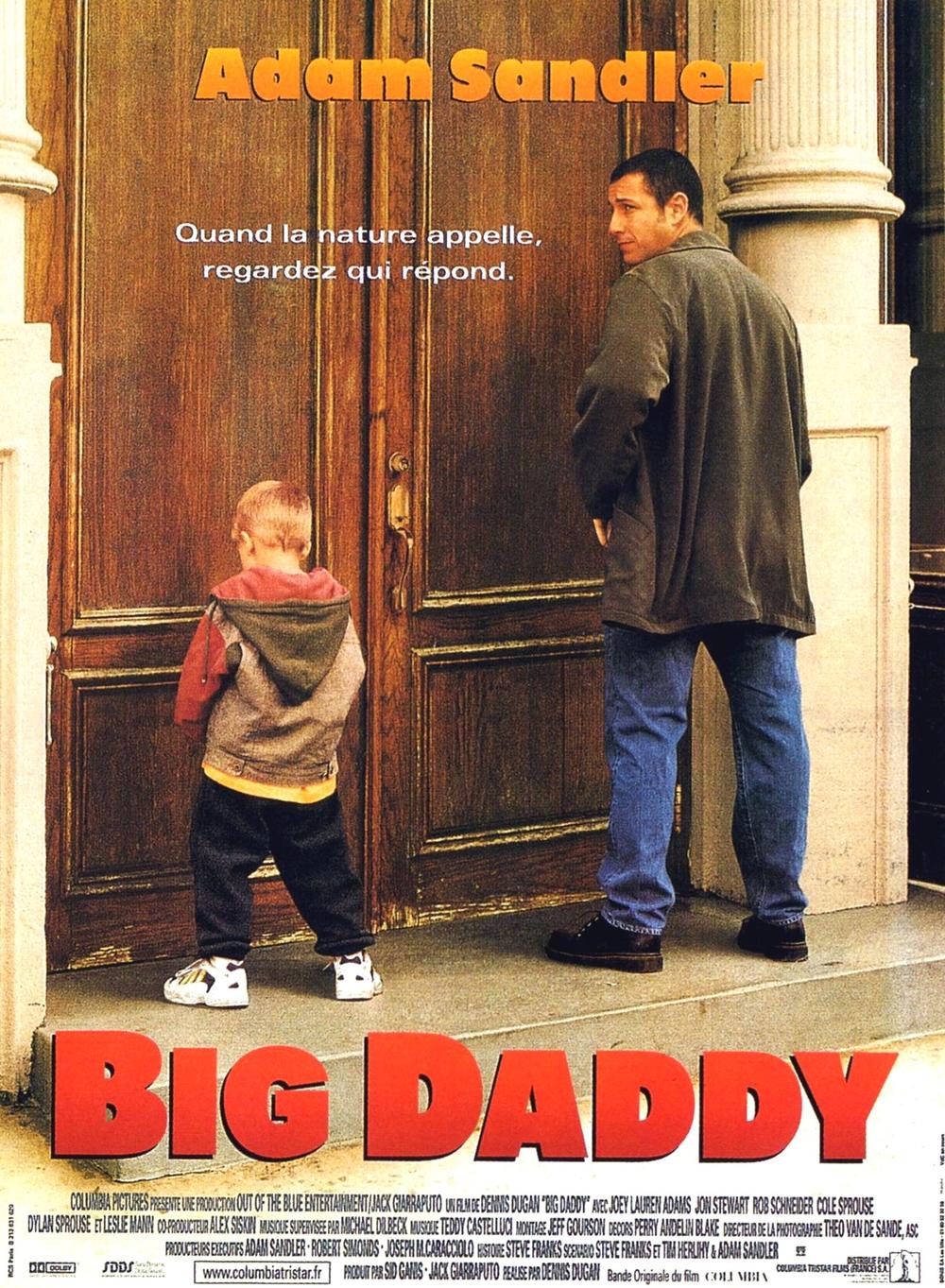 affiche du film Big Daddy