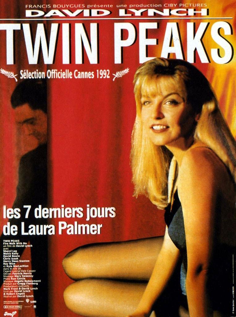 affiche du film Twin Peaks : Les 7 derniers jours de Laura Palmer