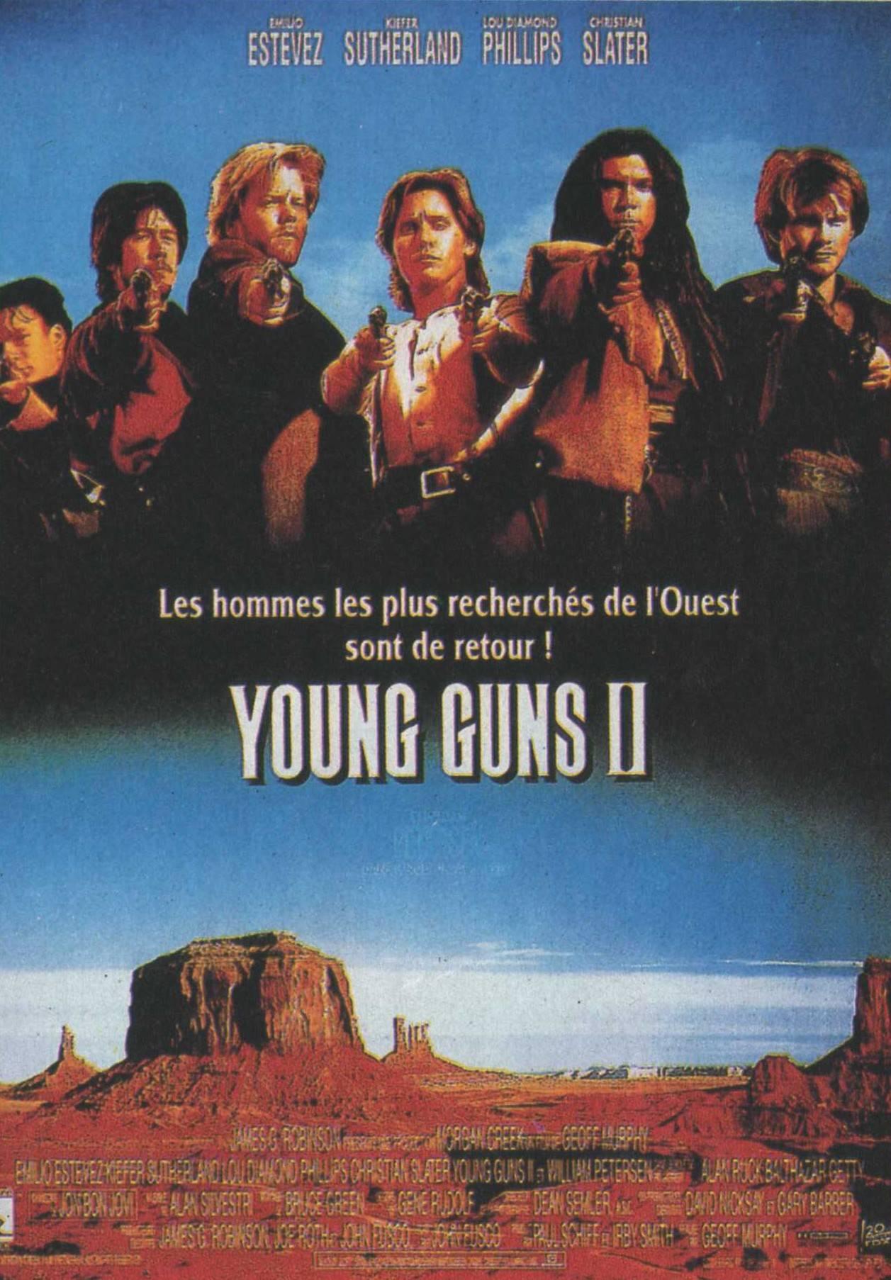 affiche du film Young Guns 2